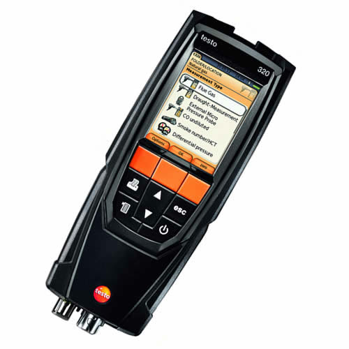 Testo 320 Combustion Analyzer: Kits, Accessories, Probes